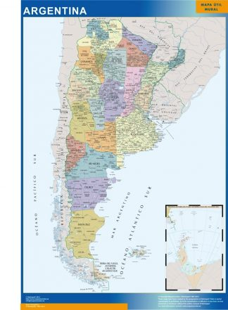Biggest Argentina map