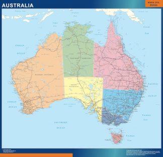 Biggest Australia map