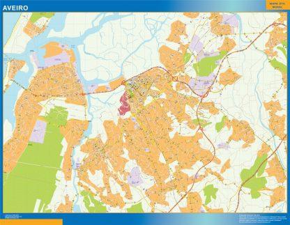 Biggest Aveiro map