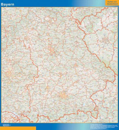 Biggest Bayern map