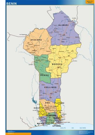 Biggest Benin map