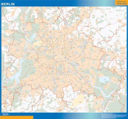 Biggest Berlin map