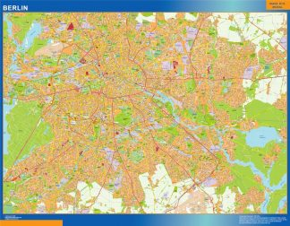 Biggest Berlin map in Germany