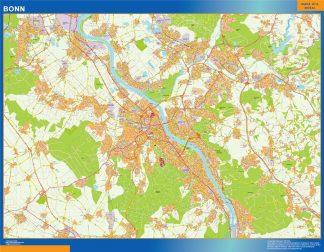 Biggest Bonn map in Germany