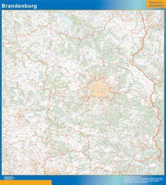 Biggest Brandenburg map