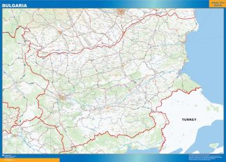 Biggest Bulgaria map