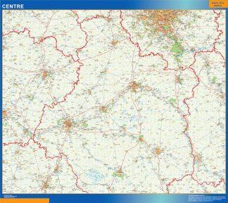 Biggest Centre laminated map