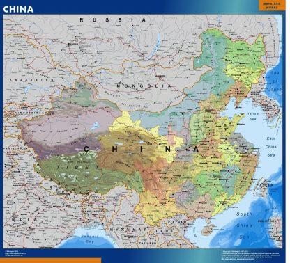Biggest China map
