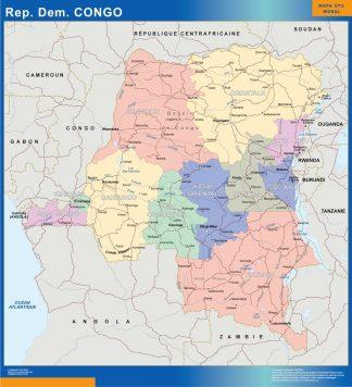 Biggest Congo map