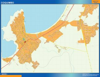 Biggest Coquimbo map from Chile