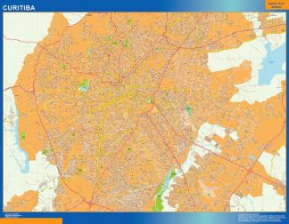 Biggest Curitiba map