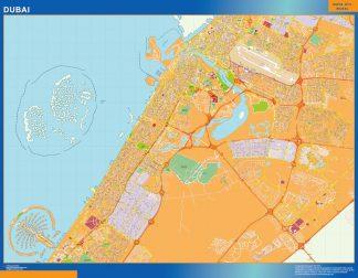 Biggest Dubai map in Emirates