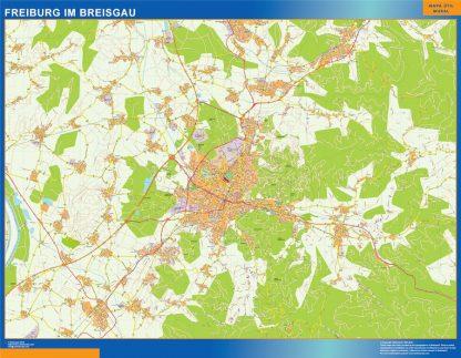 Biggest Freibug Im Breisgau map in Germany