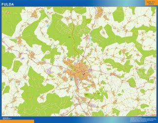 Biggest Fulda map in Germany