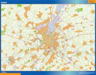 Biggest Gand map in Belgium