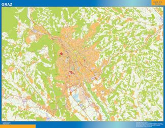 Biggest Graz map in Austria