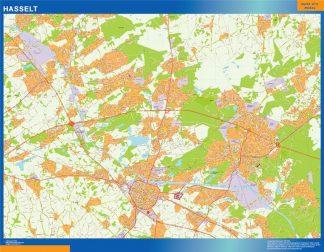 Biggest Hasselt map in Belgium