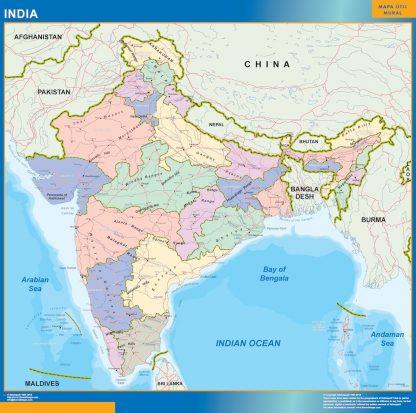 Biggest India map