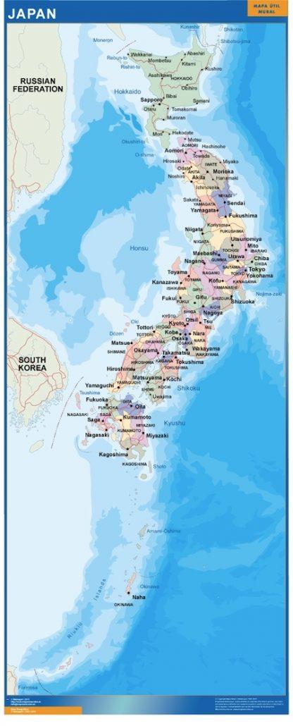 Biggest Japan map