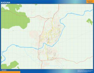 Biggest Kaduna map Nigeria
