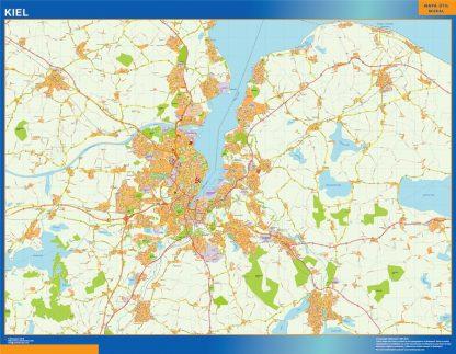 Biggest Kiel map in Germany