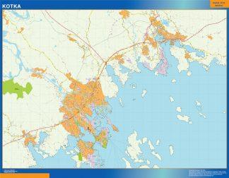 Biggest Kotka map Finland