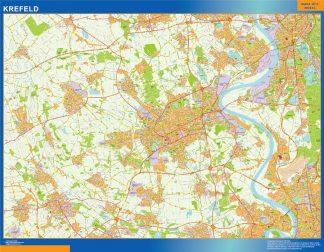 Biggest Krefeld map in Germany
