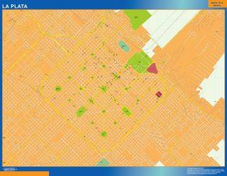 Biggest La Plata map in Argentina
