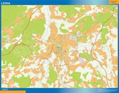 Biggest Leiria map