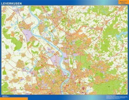 Biggest Leverkusen map in Germany