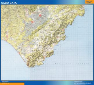 Biggest Map of Cabo Gata