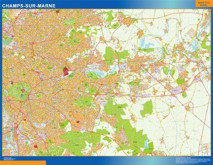 Biggest Map of Champs Sur Marne France