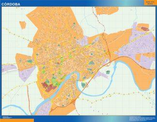Biggest Map of Cordoba Spain
