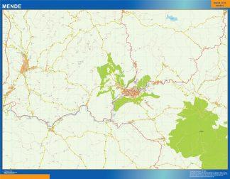 Biggest Map of Mende France