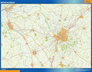 Biggest Map of Montauban France