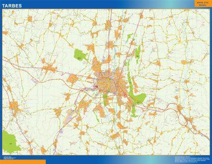 Biggest Map of Tarbes France