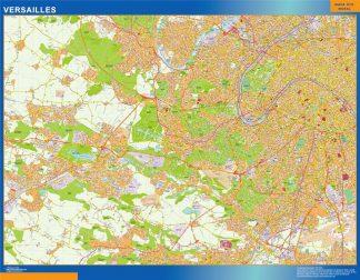 Biggest Map of Versailles France