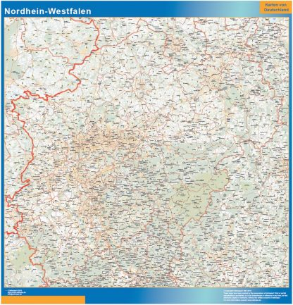 Biggest Nordrhein-Westfalen map