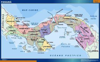 Biggest Panama map