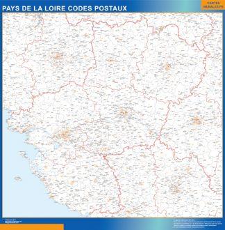Biggest Pays de la Loire zip codes