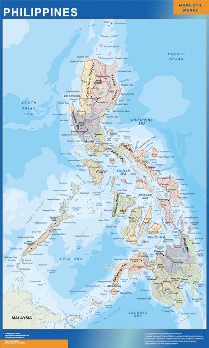 Biggest Philippines map