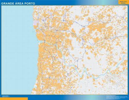 Biggest Porto Grande Area map
