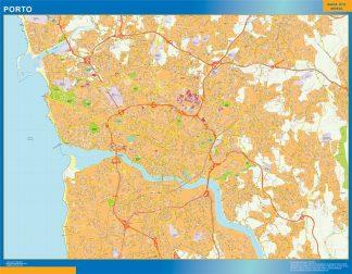 Biggest Porto map