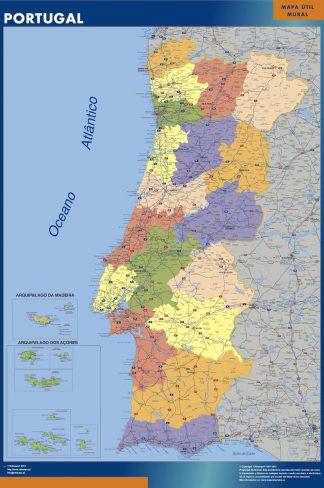 Biggest Portugal map