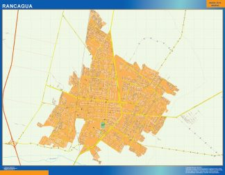 Biggest Rancagua map from Chile