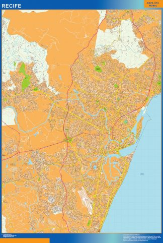 Biggest Recife map