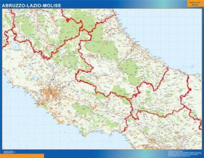 Biggest Region of Abruzzo Lazio Molise in Italy