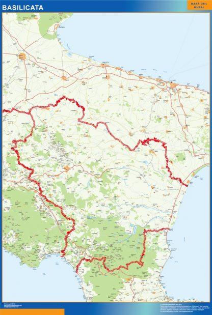 Biggest Region of Basilicata in Italy