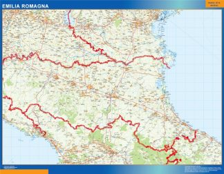 Biggest Region of Emilia Romagna in Italy