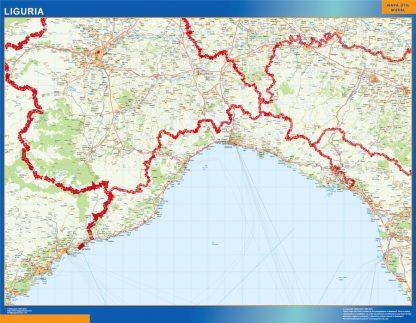 Biggest Region of Liguria in Italy